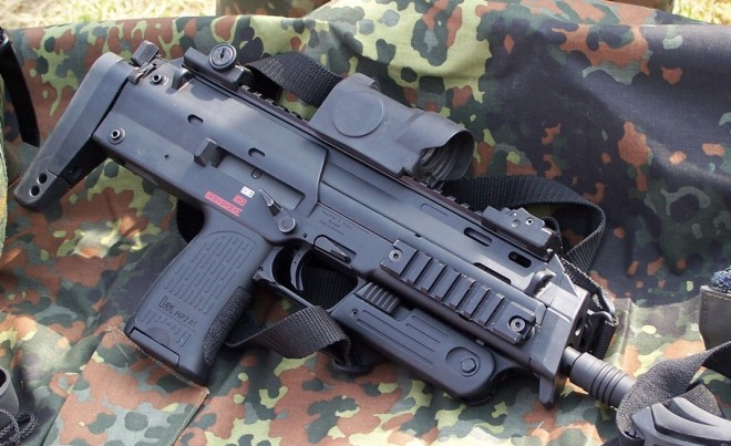 MP7A1 with Zeiss Optics