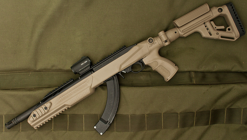 Hands On With Fab Defense 1022 Stock Rimfire Sbr The Firearm Blog