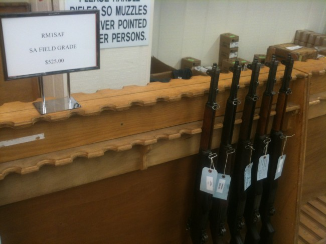 Miles went shopping at the CMP last year.