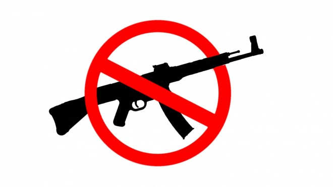 """Pictured: A """"No Assault Rifle Zone"""". Machine carbines, avtomats, and automatic rifles are still welcome. Thanks to Othais for the sweet graphic."""