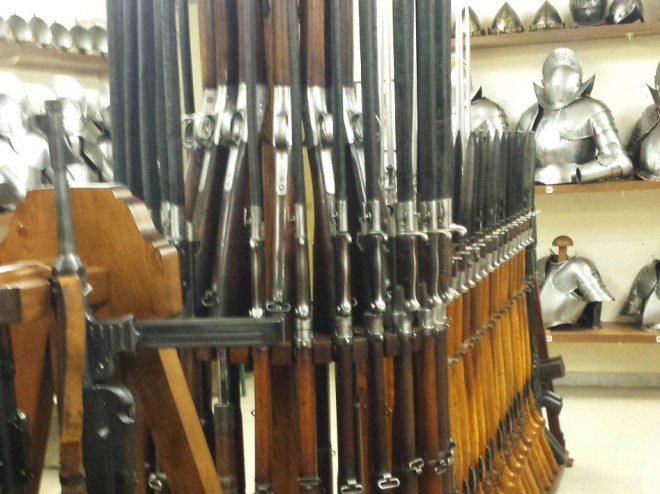 Inside The Arms Room Of The Swiss Guard The Firearm Blog
