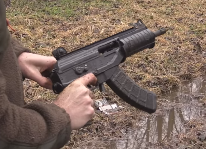 MAC Torture Tests The IWI Galil ACE In Dirty, Gritty Mud