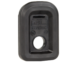 The new enhanced Magpul GL-L floor plate for the GL9 magazines.