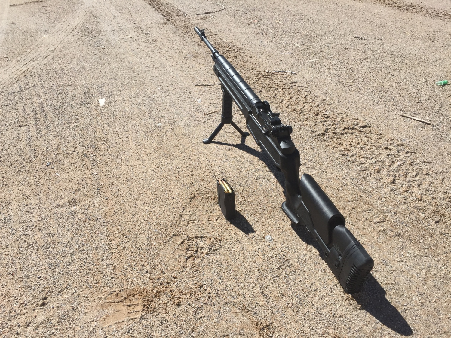 GripPod wasn't the best option for this rifle...