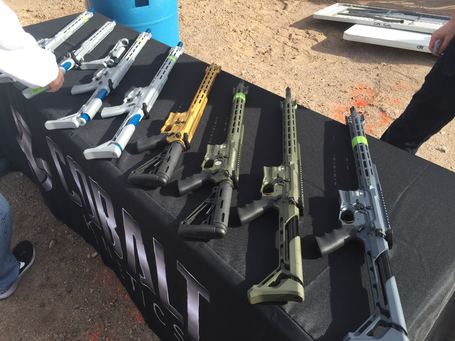Arguably the most distinctive look at Range Day...