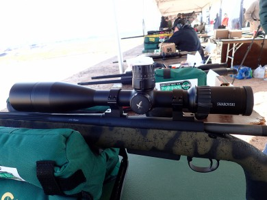 X5 mounted on a HS-Precision PLR in 338 Lapua