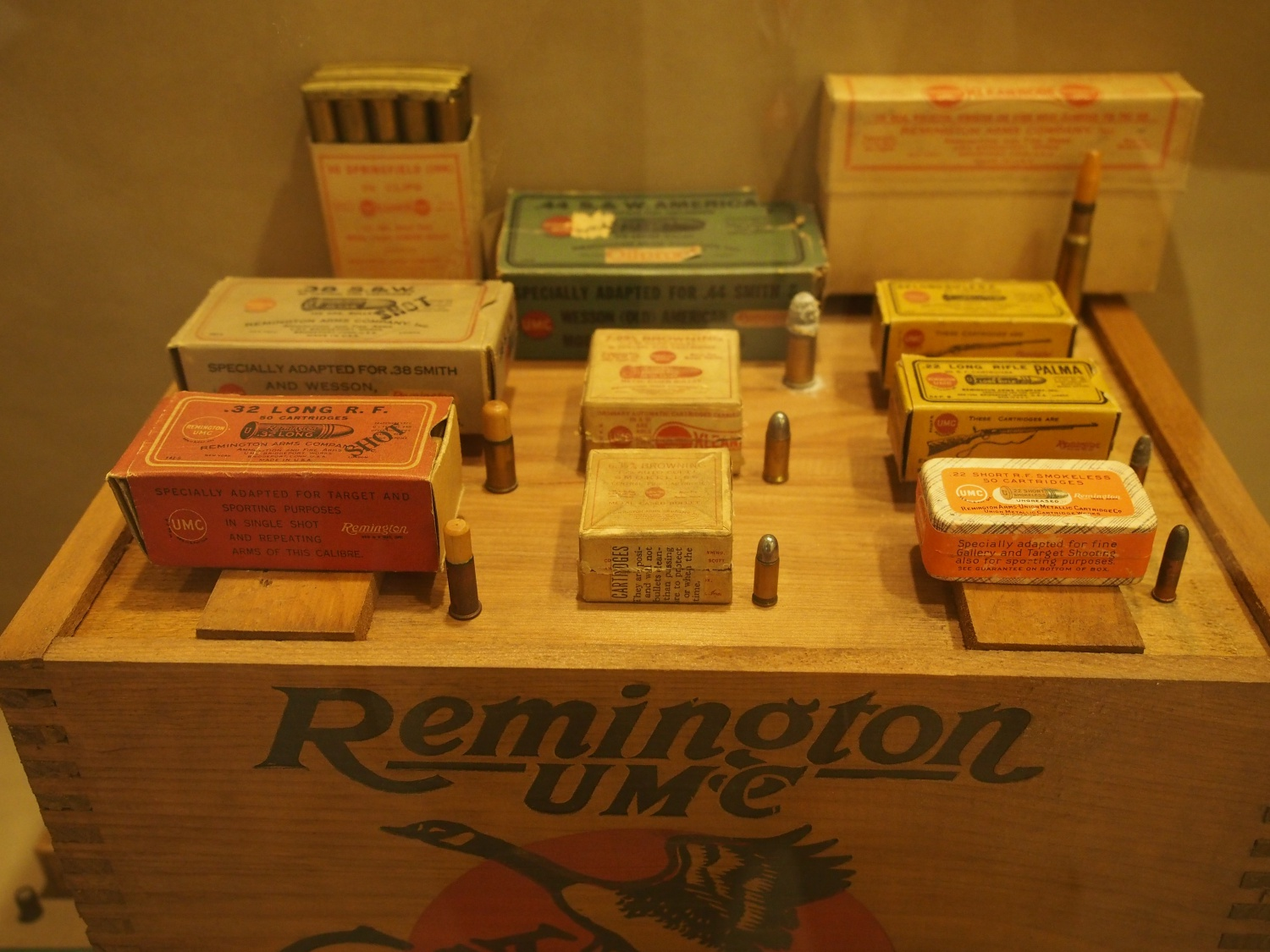 Ammunition over the years