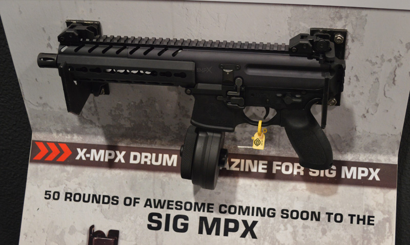 Shot 2016 X Products Sig Mpx Drum Mag The Firearm Blog