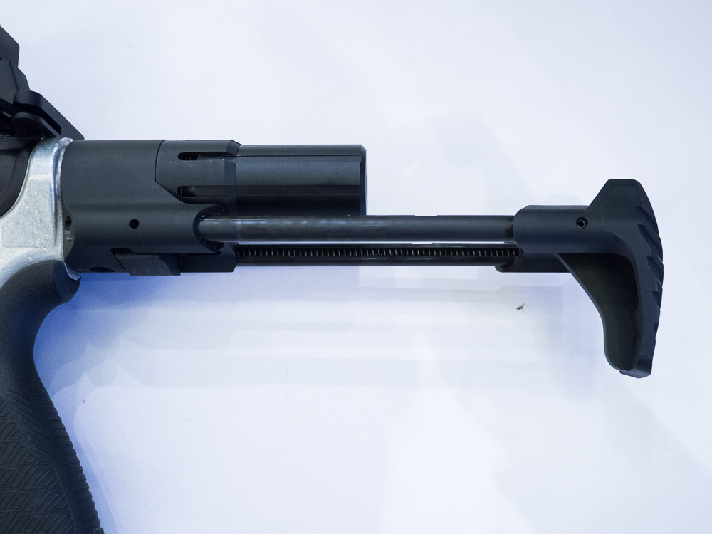 Strike Industries Ultra Short Ar Stock Latchless Charging