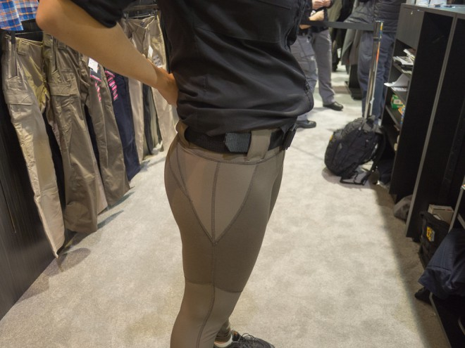 679d3eb4425ec The Raven Range Capri pants from 5.11 Tactical make a lot of sense for  woman who enjoy wearing yoga pants and would like to wear them to the range.