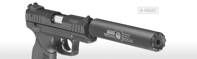 ruger enters the silencer market with the silent sr the firearm blog
