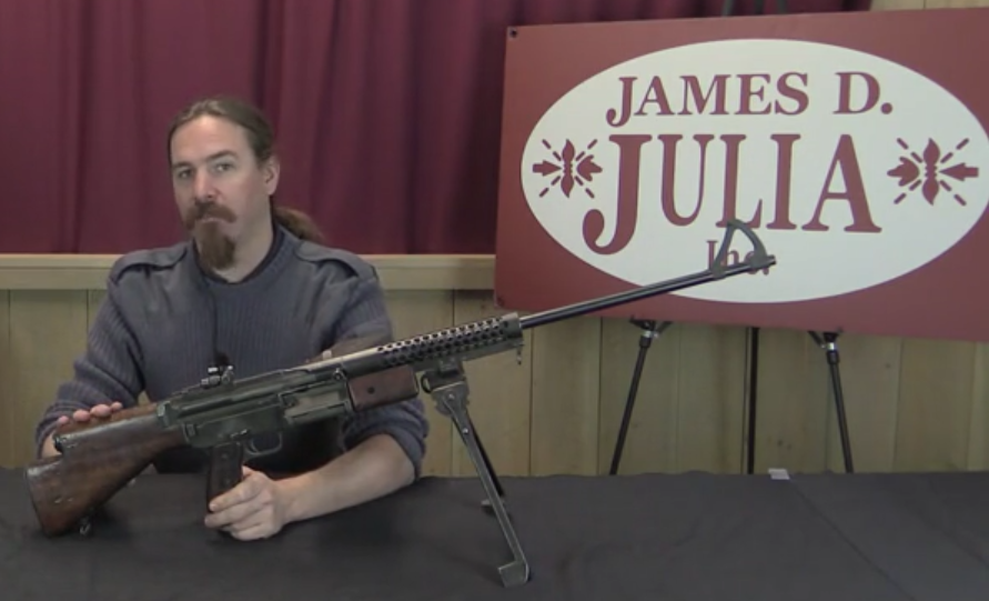 Forgotten Weapons Plays With The Johnson Lmg The Firearm Blog