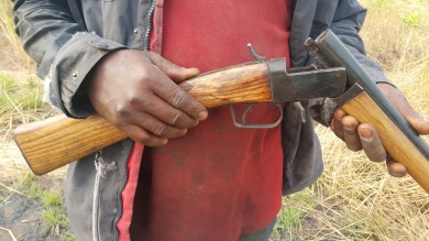 Hunter in the Village - Locally fabricated Shotgun Receiver and Chamber-1