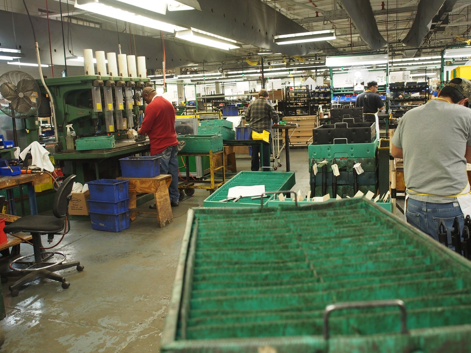 Rifle assembly line