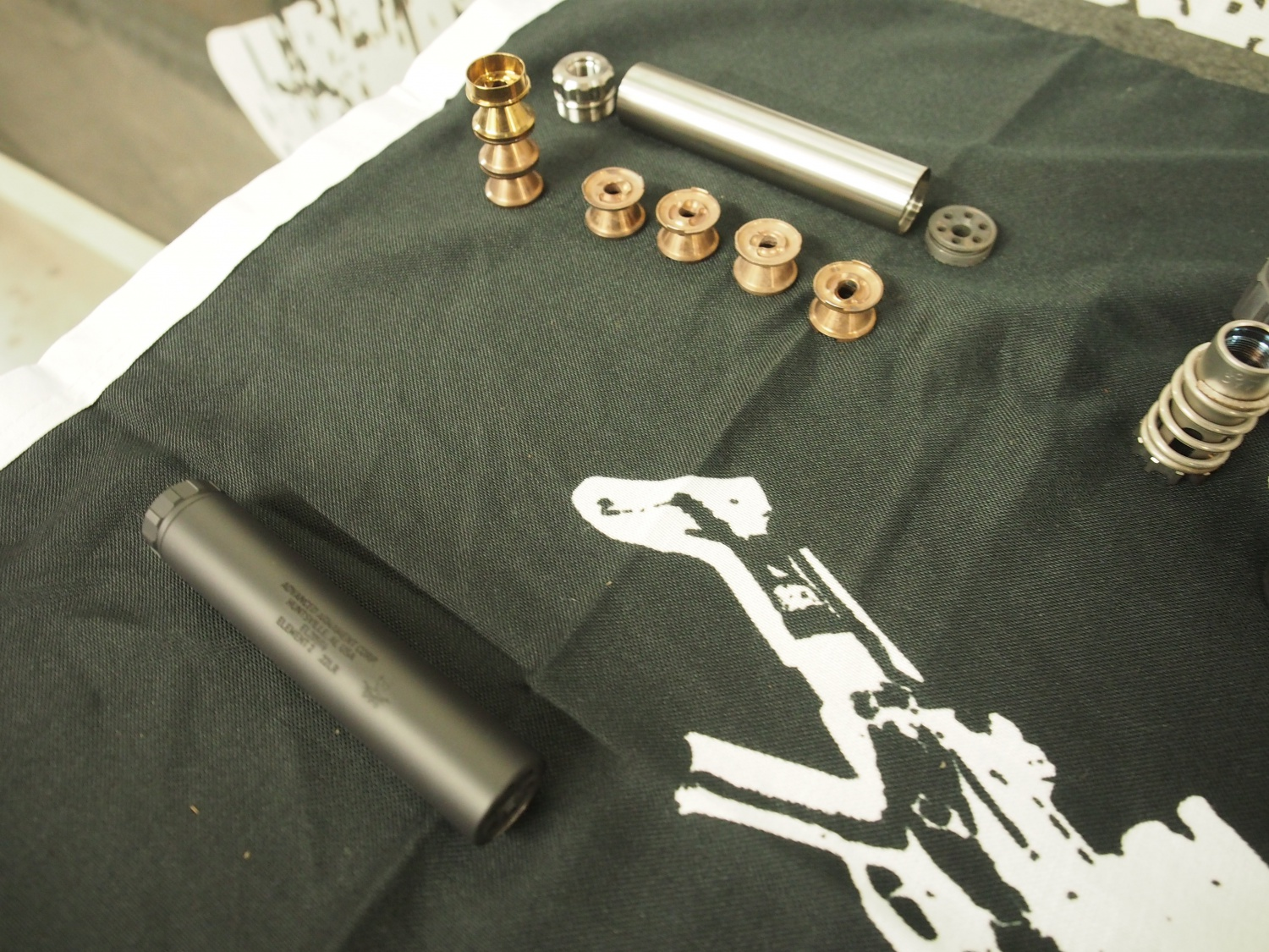 AAC suppressor disassembled