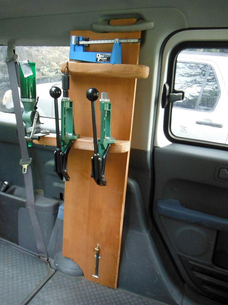 Potd Diy Car Reloading Bench The Firearm Blog