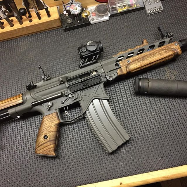 More Wood For Ar15 The Firearm Blog