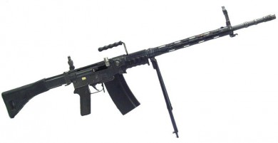 7.5x55mm SIG Stgw.57 automatic rifle