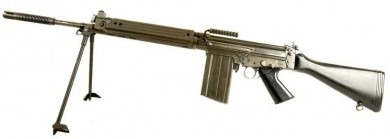 7.62x51mm Stg.58 automatic rifle