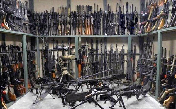 Huge Gun Room In A House Picture