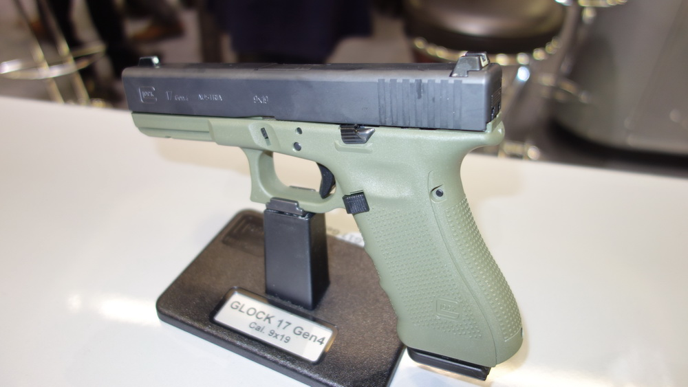 News from Glock at IWA Germany. Let there be COLOR ...