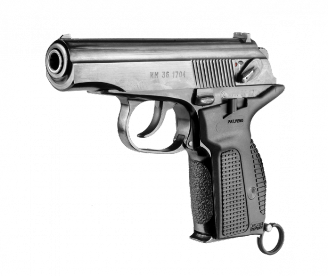 PM-G 3D Pistol Rotated