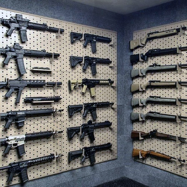 Gun Room Wall Racks