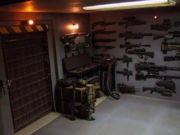 Top 100 best gun rooms the firearm blogthe firearm blog for Custom panic room