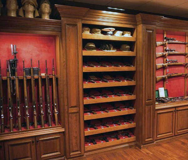 Top 100 best gun rooms the firearm blogthe firearm blog for How to build a safe room in your basement