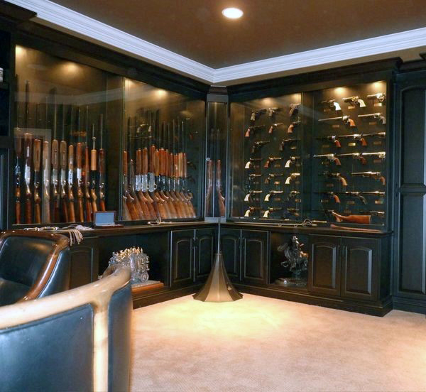 cool-basement-gun-room-for-males