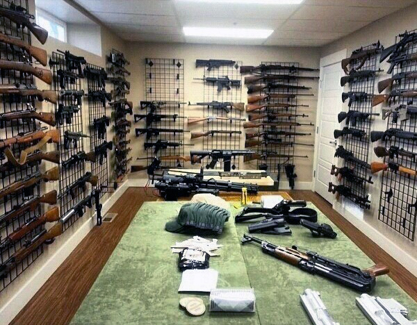 Top 100 Best Gun Rooms Raw Dog Tactical