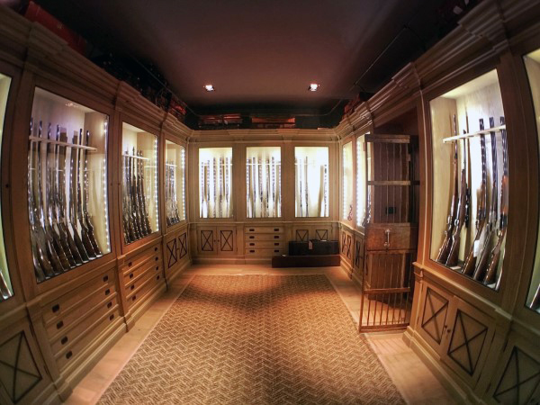 ... Custom Cabinets Gun Room Ideas ...