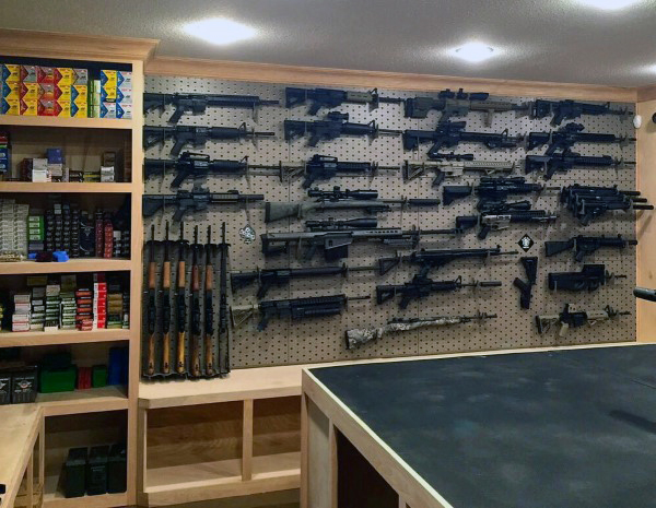 Top 100 best gun rooms the firearm blog for How to build a gun vault room