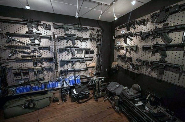 Top 100 Best Gun Rooms The Firearm Blog