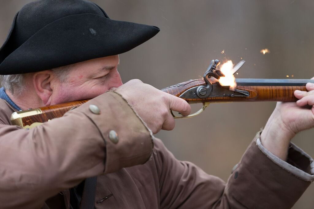A Blackpowder Shot From History All Yours For The Taking