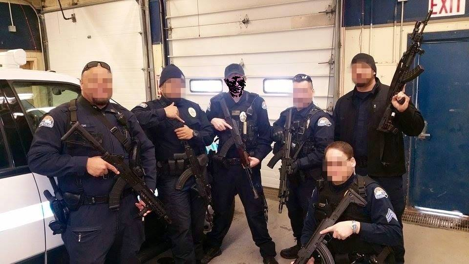 Aks Among U S Police Departments The Firearm Blog