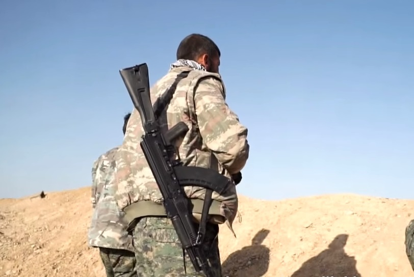 Interesting AK century series in 7.62x39mm among the YPG.
