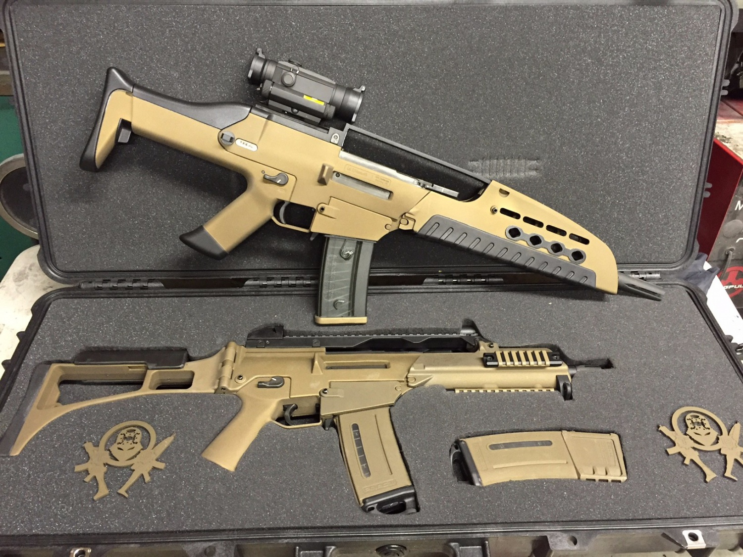 Tommy Built Custom Quot Xm8 Quot With Military Arms Channel The
