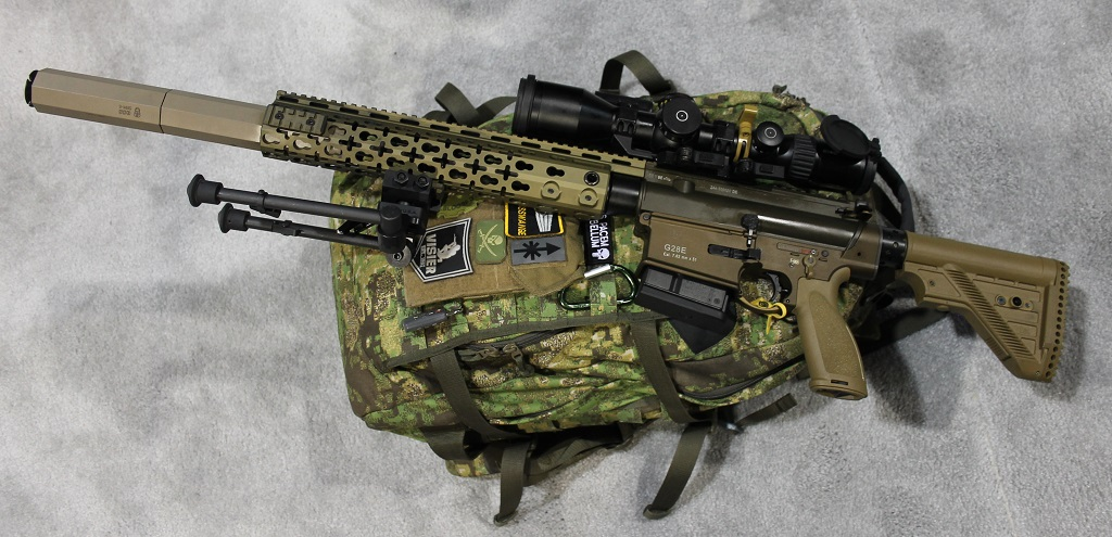 BREAKING: H&K Wins CSASS Competition with G28E - The ... M110 Sniper Rifle Suppressed