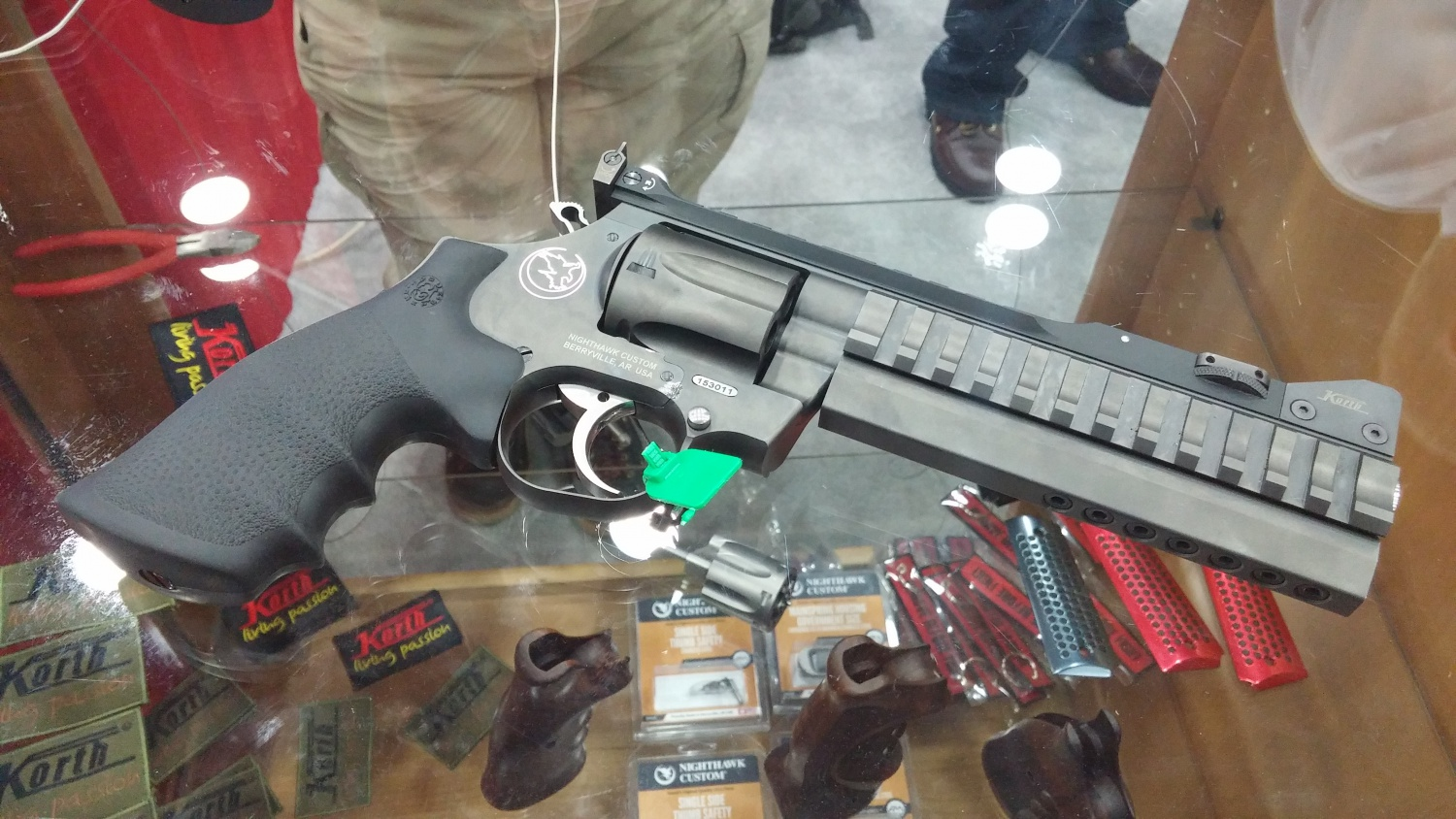 Nighthawk Partners with Korth to Import Revolvers at NRA 2016 -The