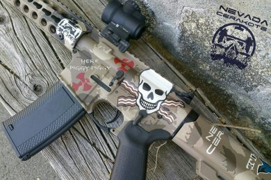 Nevada Cerakote's custom hog gun, which was an Axelson Tactical AR