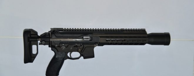 Prototype of the submachinegun CMP 9 (9x19mm)