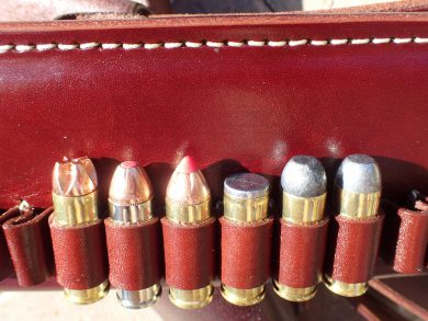 From L to R: Lehigh, Hornady Critical Defense, Leverevolution, Buffalo Bore, Winchester, Black Hills