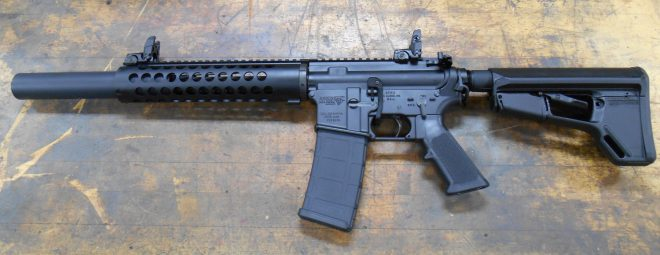 Curtis Tactical: 300blk Integrally Suppressed Upper Receiver.