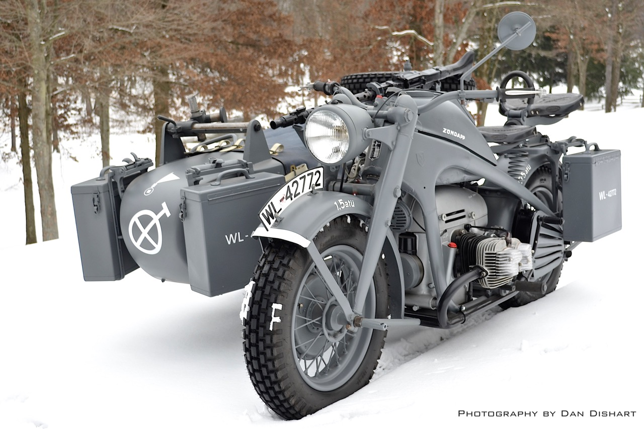 mg34 and the motorcycle it rode on z ndapp ks 750 the. Black Bedroom Furniture Sets. Home Design Ideas