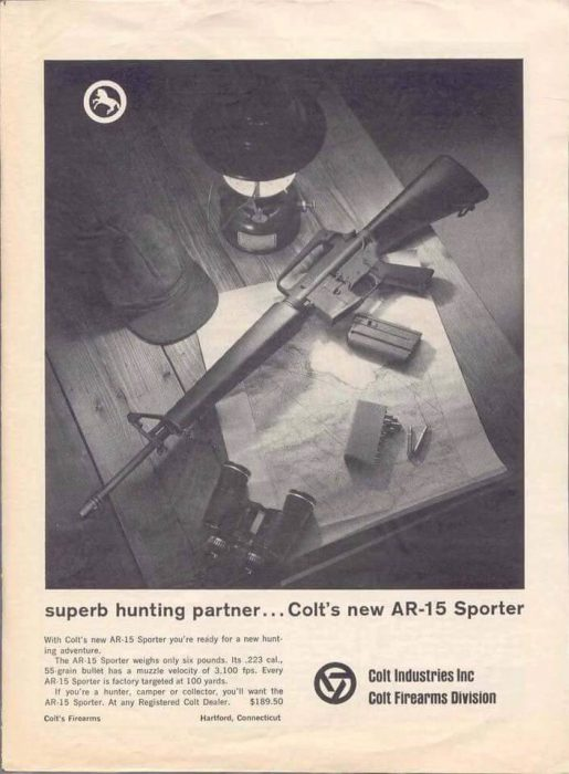 Potd Old Timey Colt Ar 15 Sporter Ad The Firearm Blog