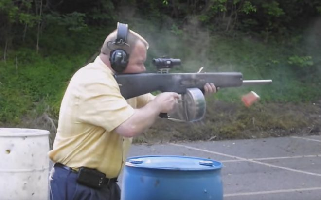 ... grenade launcher, shotgun, would you believe I sent a letter to MPS  suggesting they make a .357 magnum version of the AA-12 when I was 13? It's  true!