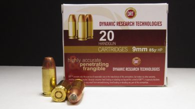 DRT offers a variety of frangible rounds