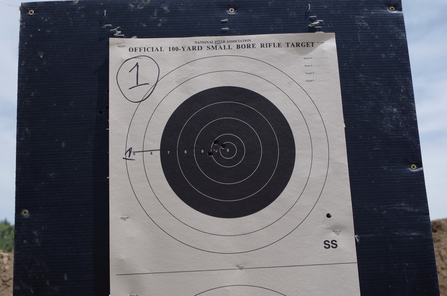 .308 Win Sight-In after a whopping 9 rounds total