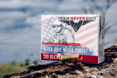 SRSP Team Never Quit has an entire line of frangible rounds
